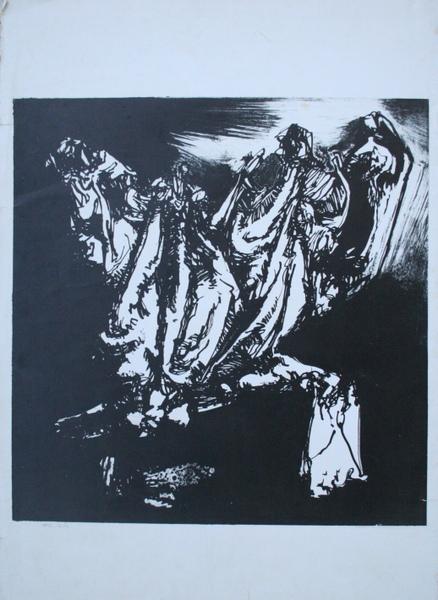 0009 Luciano De Vita, litografia pds