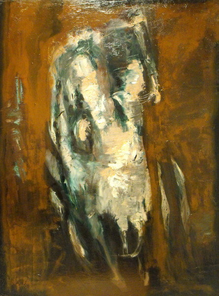 0018 Giorgio Belledi, Torso, 1961, olio su tela