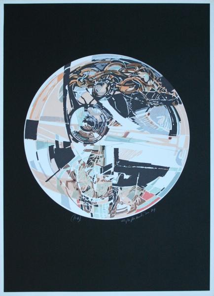 0036 Giacomo Soffiantino, 1974, litografia pa