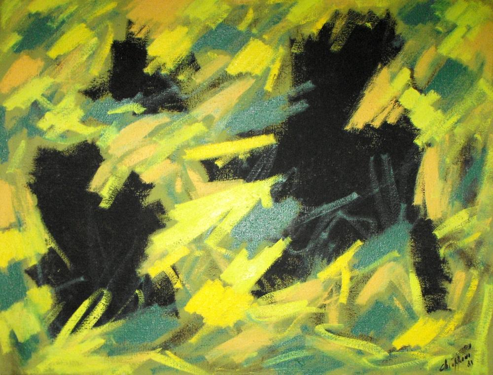 0045 Alfredo Chiapponi 1983 olio su tela
