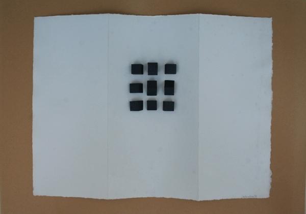 0067 Ettore Consolazione, Rlevo, 1997, t.m. su carta