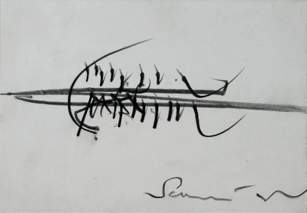 0138 Emilio Scanavino, matita su carta