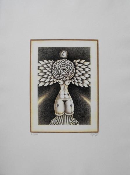 Domenico Difilippo, Venere radiosa o della vita, 1986, incisione 25-100