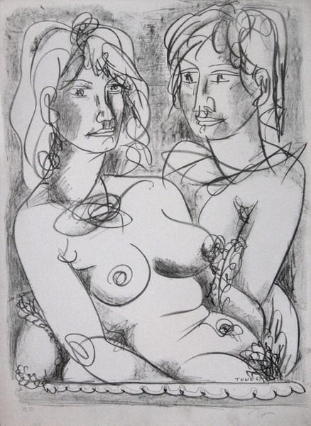 Tono Zancanaro, 1967, litografia 13 80