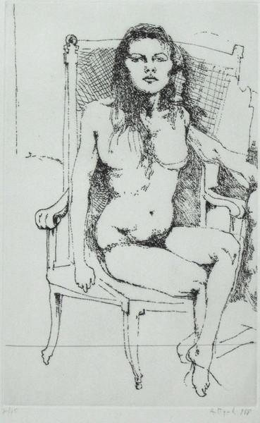 Ugo Attardi, 1968, incisione 70-75